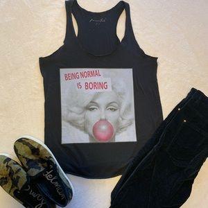 Miami style Marilyn Monroe tank top